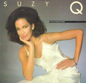 Album  Cover Suzy Q - Get On Up And Do It Again on ATLANTIC Records from 1981