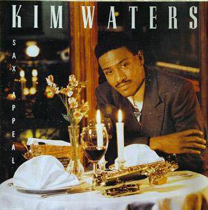 Album  Cover Kim Waters - Sax Appeal on WARLOCK Records from 1991