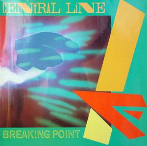 Front Cover Album Central Line - Breaking Point