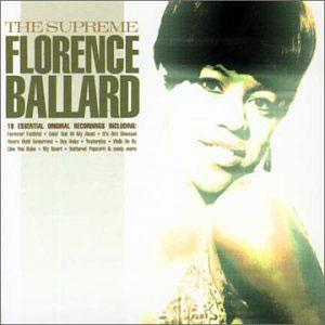 Album  Cover Florence Ballard - The Supreme on SPECTRUM Records from 2001