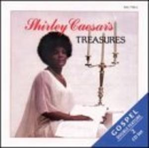 Album  Cover Shirley Caesar - Treasures on HOB Records from 1992