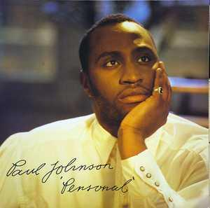 Album  Cover Paul Johnson - Personal on CBS Records from 1989