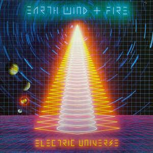 Front Cover Album Wind & Fire Earth - Electric Universe