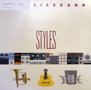 Album  Cover Ben Liebrand - Styles on  Records from 1990