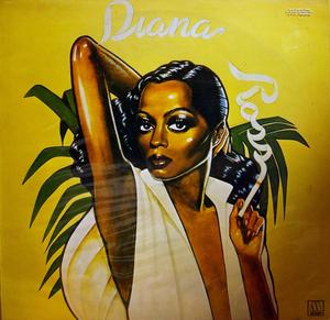 Album  Cover Diana Ross - Diana Ross on MOTOWN Records from 1976