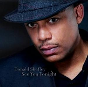 Album  Cover Donald Sheffey - See You Tonight on WEEZIE Records from 2009