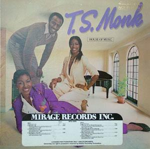 Front Cover Album T.s. Monk - House Of Music