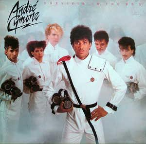 Album  Cover André Cymone - Survivin' In The 80's on CBS Records from 1983