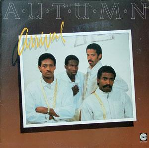 Album  Cover Autumn - Arrival on COMPLEAT  Records from 1984