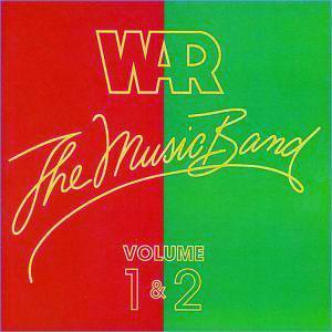 Album  Cover War - The Music Band 2 on MCA Records from 1979