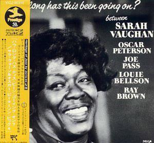 Album  Cover Sarah Vaughan - How Long Has This Been Going On? on PABLO Records from 1978