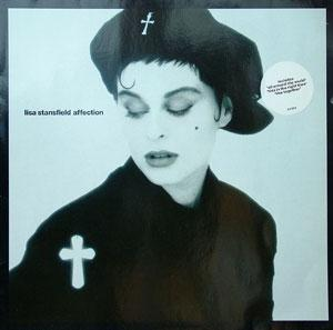 Album  Cover Lisa Stansfield - Affection on ARISTA Records from 1989