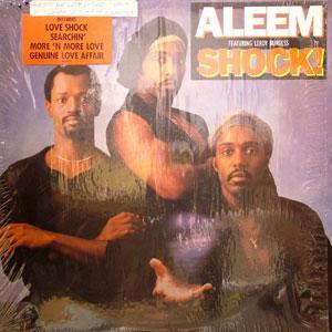 Album  Cover Aleem - Shock! on ATLANTIC Records from 1987