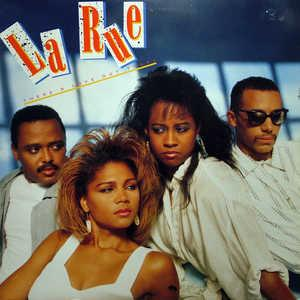 Album  Cover La Rue - There's Love Out There on RCA Records from 1989