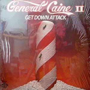 Album  Cover General Caine - Get Down Attack on GROOVE TIME Records from 1980