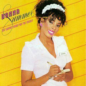Album  Cover Donna Summer - She Works Hard For The Money on MERCURY Records from 1983
