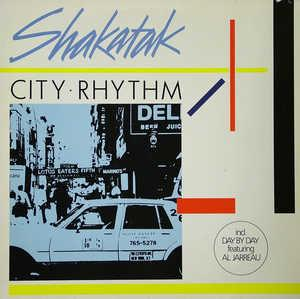 Album  Cover Shakatak - City Rhythm on POLYDOR Records from 1985