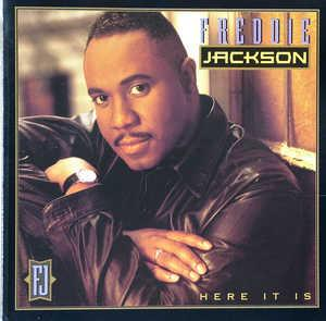 Front Cover Album Freddie Jackson - Here It Is