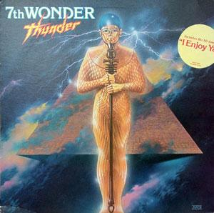 Album  Cover 7th Wonder - Thunder on CHOCOLATE CITY Records from 1980