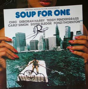 Album  Cover Original Motion Picture Soundtrack - Soup For One on WEA Records from 1982
