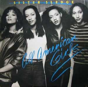 Album  Cover Sister Sledge - All American Girls on COTILLION Records from 1980
