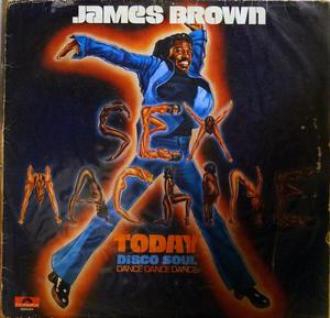 Album  Cover James Brown - Sex Machine Today on POLYDOR Records from 1975