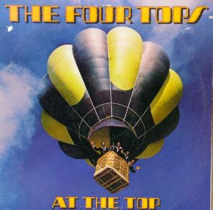 Album  Cover The Four Tops - At The Top on MCA Records from 1978