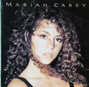 Album  Cover Mariah Carey - Mariah Carey on COLUMBIA Records from 1990