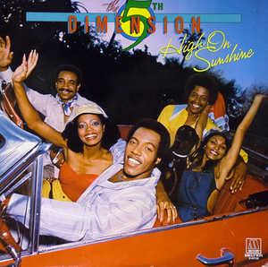 Album  Cover The Fifth Dimension - High On Sunshine on MOTOWN Records from 1981