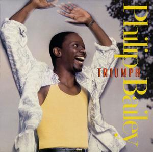 Album  Cover Philip Bailey - Triumph on A&M Records from 1986