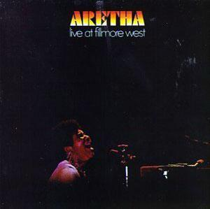 Album  Cover Aretha Franklin - Aretha Live At Fillmore West on ATLANTIC Records from 1971