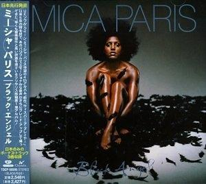 Album  Cover Mica Paris - Black Angel on CHRYSALIS Records from 1998