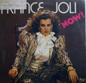 Album  Cover France Joli - Now! on PRELUDE Records from 1982