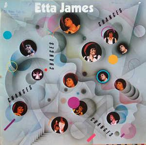 Album  Cover Etta James - Changes on T-ELECTRIC Records from 1980
