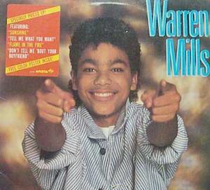 Album  Cover Warren Mills - Warren Mills on JIVE Records from 1985