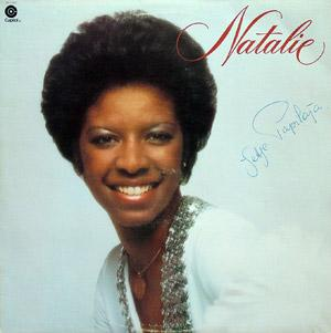 Album  Cover Natalie Cole - Natalie on EMI Records from 1976