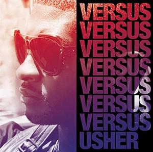 Album  Cover Usher - Versus on SONY Records from 2010
