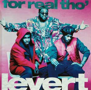 Album  Cover Levert - For Real Tho' on ATLANTIC Records from 1993