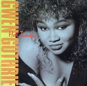 Front Cover Album Gwen Guthrie - Hot Times
