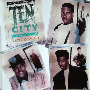 Album  Cover Ten City - State Of Mind on ATLANTIC Records from 1990