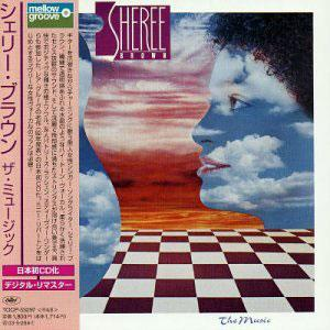 Album  Cover Sheree Brown - The Music on CAPITOL Records from 1982