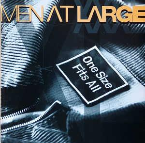 Front Cover Album Men At Large - One Size Fits All