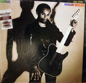 Album  Cover Marlon Mcclain - Changes on FANTASY Records from 1981