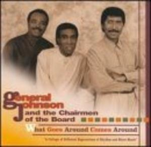 Album  Cover Chairmen Of The Board - What Goes Around Comes Around on SURFSIDE Records from 1993