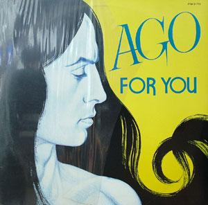Album  Cover Ago - For You on FULL TIME Records from 1982