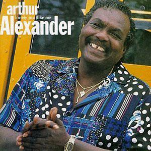 Album  Cover Arthur Alexander - Lonely Just Like Me on ELEKTRA Records from 1993