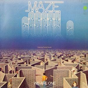 Front Cover Album Maze - We Are One