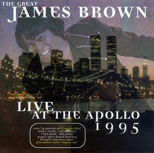 Album  Cover James Brown - Live At The Apollo 1995 on SCOTTI BROTHERS Records from 1995