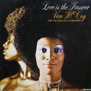 Album  Cover Van Mccoy - Love Is The Answer on AVCO Records from 1974