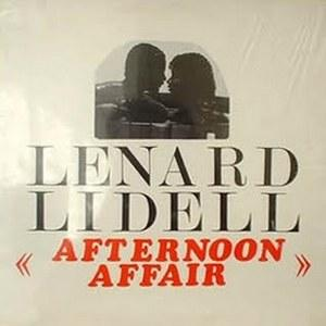 Album  Cover Lenard Lidell - Afternoon Affair on JARA Records from 1983